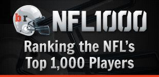 BR NFL 1000 Rankings
