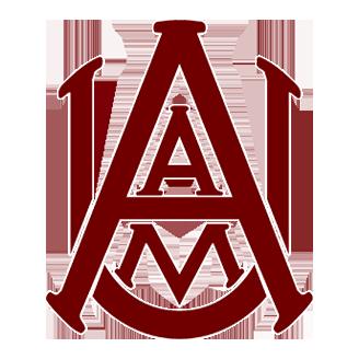 Alabama A&M Basketball logo