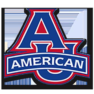 American University Basketball logo