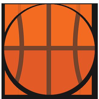 Division II Basketball logo