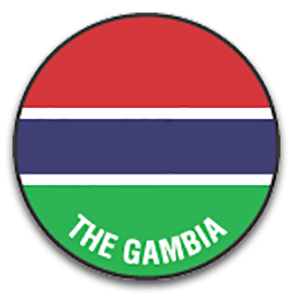 Gambia (National Football) logo