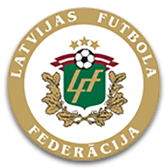 Latvia (National Football) logo