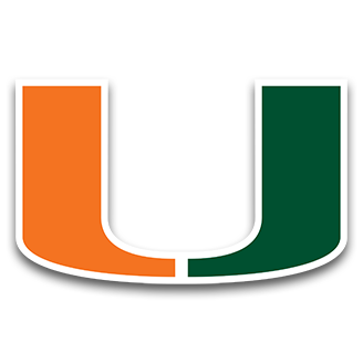 Miami Hurricanes Basketball logo