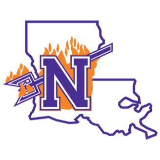 Northwestern State Basketball logo