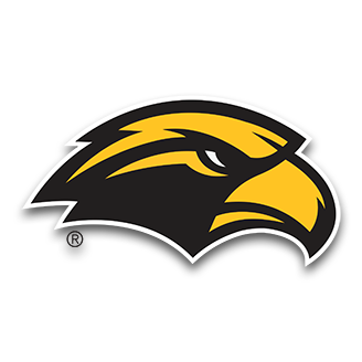 Southern Miss Golden Basketball logo