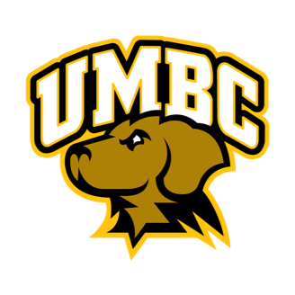 UMBC Basketball logo