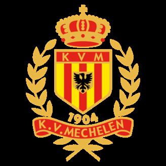 Yellow-Red KV Mechelen logo