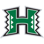 Hawaii Warriors Basketball logo