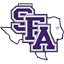 Stephen F Austin Football logo