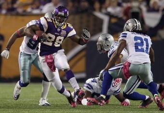 Tony Romo and Tashard Choice: Minnesota Vikings, Dallas Cowboys and Trains