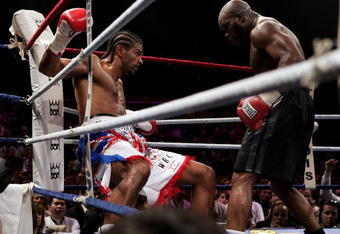 Mormeck knocked Haye down in a 2007 cruiserweight contest
