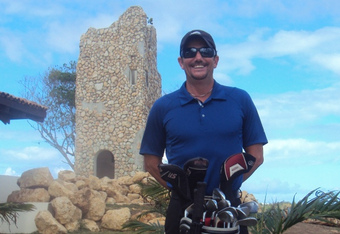 Miguel Suarez- one of the most respected golf professionals in Puerto Rico, both as a player and as a teacher. Director of Golf at Royal Isabella.
