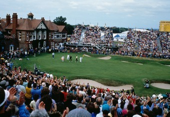 The 18th at Royal Lytham July 18, 1988
