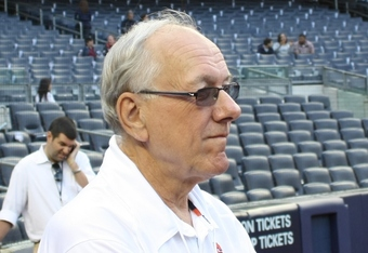 Syracuse Coach Jim Boeheim has recovered from prostrate cancer to coach a national championship team
