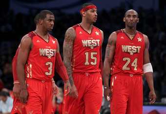 Potential future team-mates for Chris Paul?  Melo or Kobe?