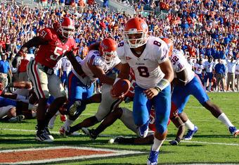 Trey Burton showed he can score touchdowns in a multitude of ways last season.