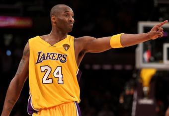 L.A. Laker guard Kobe Bryant
