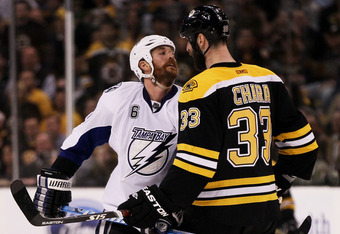 I know its rude, but when you go up against someone as ugly as Zdeno Chara, its very hard not to stare...