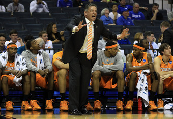 Tennessee Basketball Coach Bruce Peal resigned due to multiple major violations