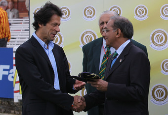 Imran Khan dislikes politics when it comes to Pakistani cricket.