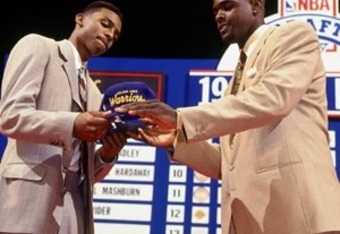 Hardaway and Webber were traded for each other on Draft Night.
