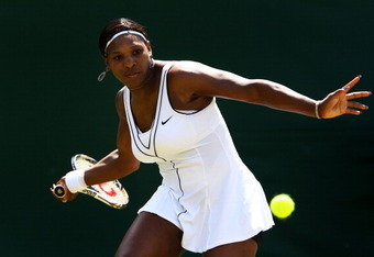 Serena Williams is a hearty competitor