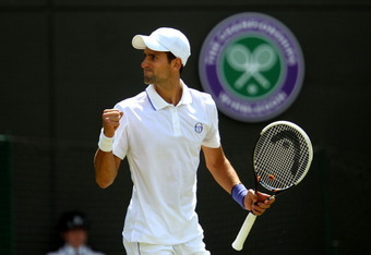 Novak Djokovic is funny.