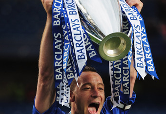 John Terry will be hoping he can lead the Blues to the Premier League title again under Andre Villas-Boas