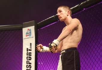 "First of Cage Contender exclusive fighters, Damien ""The Rage"" Rooney"