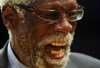 Bill Russell the NBA father to Dwight.