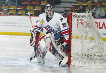 NHL All-Star and Olympian goaltender Ryan Miller, during the last Sabres/Amerks affiliation in 2005.