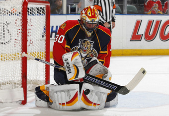 Scott Clemmensen could face a starting role in net for the Panthers this season.