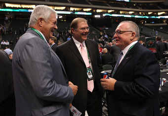 Jim Rutherford (right) should be satisfied with his progress to this point.
