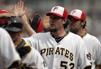 Hanrahan is poised to have the leagues best season for a closer since Gagne's 2003 Cy Young campaign