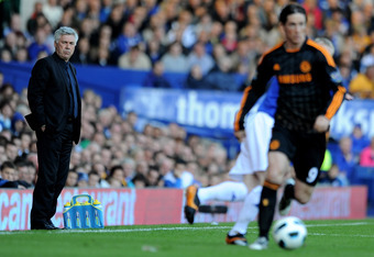 Ancelotti had his hands tied when dealing with Torres