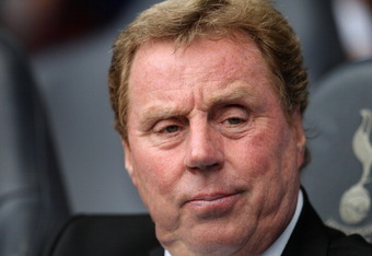 Harry Redknapp gets psyched up for the 2011/2012 season.