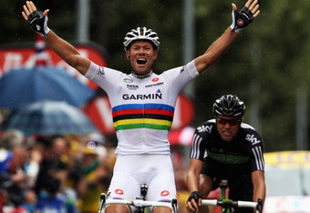 Big Thor honors the Rainbow Jersey with two stage wins