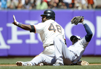 It's been extra-base hits galore for the Panda