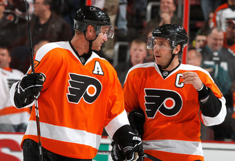 The big two are gone, and so is their combined points totals. The New Flyers have big shoes to fill in replacing that production.