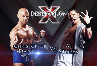Christopher Daniels vs AJ Styles at Destination X. Battle of the Originals