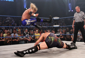 The latest, and perhaps the final, chapter of the RVD/Lynn feud could be one of the highlights of Destination X. (Photo courtesy of TNAwrestling.com)