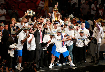 The Mavericks won the NBA championship based the diversity of their team.