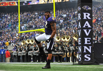 Ray Lewis:  football player and predictor of chaos