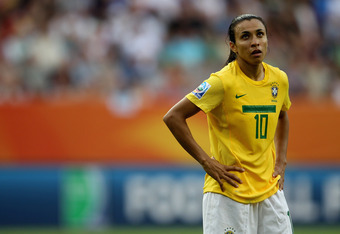 She may be the best female player in the world, but Marta showed no class yesterday vs the United States
