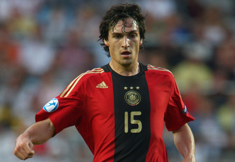 MALMO, SWEDEN - JUNE 29:  Mats Hummels of Germany during the UEFA U21 European Championships Final match between England and Germany at the New Stadium on June 29, 2009 in Malmo, Sweden.  (Photo by Phil Cole/Getty Images)