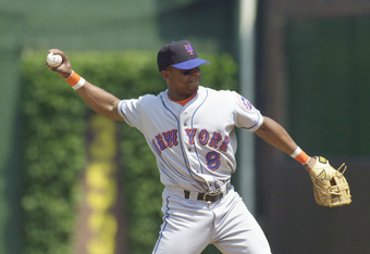 Desi Relaford was with the Mets for only a year, but what a year it was!