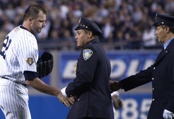Roger Clemens Post 9/11 game