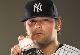 TAMPA, FL - FEBRUARY 23:  Joba Chamberlain #62 of the New York Yankees poses for a portrait on Photo Day at George M. Steinbrenner Field on February 23, 2011 in Tampa, Florida.  (Photo by Al Bello/Getty Images)