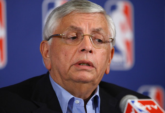David Stern looks worried. He should be more urgent to complete a deal.