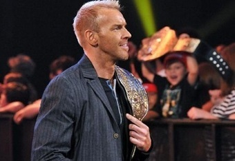 'Captain Charisma', during his reign as WWE's World Heavyweight Champion.